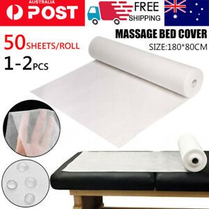 50/100 Disposable Beauty Bed Sheet SMS Non-woven Massage SPA Salon Table Cover