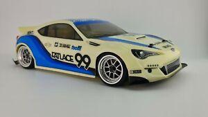 HPI Racing RS4 Sport 3 Subaru BRZ Fatlace #114356 RC Car OZRC JL