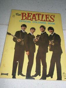 1964 BEATLES Official Coloring Book NO WRITING Original book