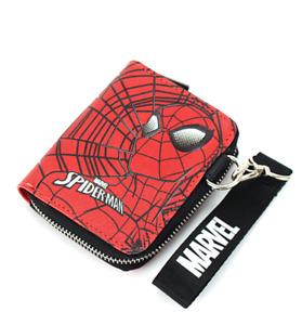 Marvel Spider-man Licensed Strap Zipper Wallet