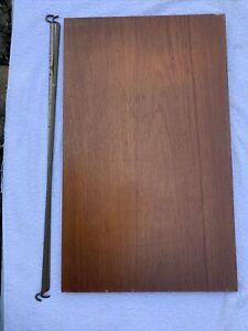 Ladderax Teak Deep Short Shelf 2 Support Bars 59 X 35.5cm (21E)