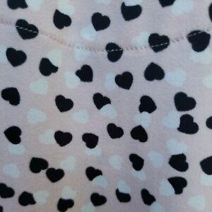 Echo Sleepwear Sleep Shirt Size Large Pink Black White Nightgown Button Front