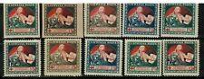 Latvia 1920 Semi-Postal SC#B3-12 MH,HCV
