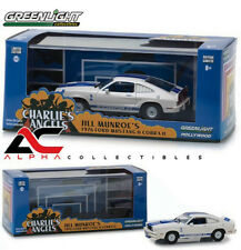 GREENLIGHT 86516 1:43 1976 FORD MUSTANG COBRA II CHARLIE'S ANGELS W/CASE