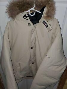Men's Woolrich Arctic Parka Jacket 4XLT  Detachable Fur Hood Older Style NWT
