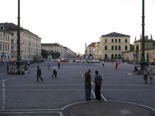 MARIO STRACK - Odeonsplatz limit.Fotografie Original signiert Munich art Bilder