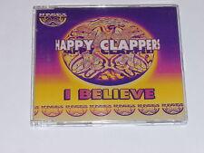 HAPPY CLAPPERS - I Believe - 1995 UK 6-mix CD single