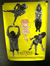 24-7 SPYZ Large Rare 1991 Promo Poster in mint condition