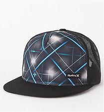 NEW HURLEY MENS GUYS TRUCKER SNAPBACK BALL HAT BASEBALL CAP BALLHAT ONE SIZE