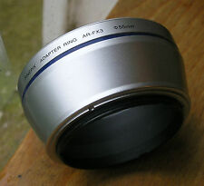 Fuji FinePix AR-FX3 Step Up tubo di plastica 45.5mm a 55mm