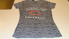 NFL Ladies Women Chicago Bears S Pride Playing IV V Neck T Shirt Football NWT
