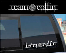 Team Collin Sticker Decal for Twilight Wolf Pack & Jacob w/ tattoo design too!