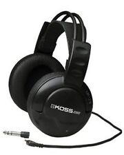 Koss UR20 Full Size Stereo Headphones DJ Style Stereophone Black