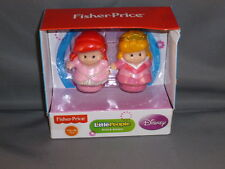 Fisher Price Little People Disney Princesses Ariel Aurora new