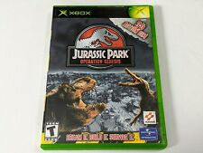 Jurassic Park Operation Genesis for Xbox **TESTED & WORKS GREAT**
