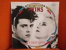 VINYL MAXI – THOMPSON TWINS : GET THAT LOVE – ELECTRO SYNTH POP – NM ! – 1987