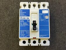 WESTINGHOUSE CIRCUIT BREAKER 70 AMP 480V 3 POLE EHD3070