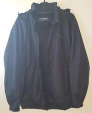 Dunlop Golf Mens Hooded Rain Jacket Black Size S