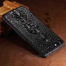 Luxury 3D Crocodile Design Matte Hard Leather Case Cover For iPhone 7 6s 7 Plus