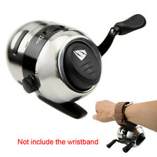 Stainless Steel Bow Slingshot Catapult Fishing Spincast Reel Hunting Shooting
