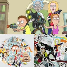 35Pcs/lot Drama Rick and Morty Stickers Decal For Snowboard Laptop Luggage Car