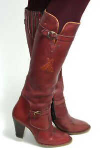 Westernstiefel Cowboystiefel Line Dance Catalan Style Boots Leder Zipper 38
