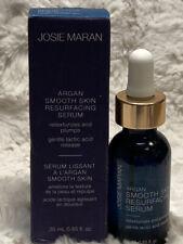 NEW Josie Maran Argan Smooth Skin Resurfacing Serum 25mL/0.85 Fl Oz With Box