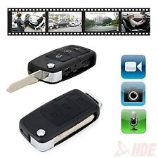 Mini Car Key Fob DVR Motion Detection Camera Hidden Spy Cam Video Recorder