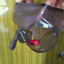 Latex Briefs Shorts With Penis Condom ANUS Condom Customized