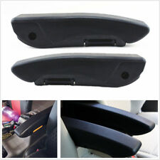 2 X Comfortable Adjustable Car Seat Armrest Console Box Arm Rest Kit PU Leather