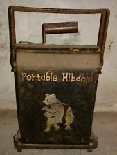 Portable Hibachi Japan Antique Vintage Cast Iron Fold Up Grill Barbecue Outdoor