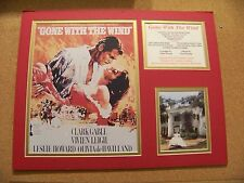 Gone With The Wind movie red matted display