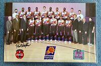 PAUL WESTPHAL AUTOGRAPHED PHOENIX SUNS 1993 NBA TEAM 11x17 STAY IN SCHOOL