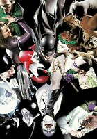 Alex Ross SIGNED Joker's Reckoning Giclee on Canvas Limited Edition of 75 DLX