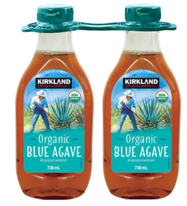 Kirkland Signature Organic Blue Agave Sweetener, 2 x 736ml New/Free Delivery