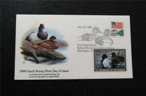 nystamps US Duck Stamp Used First Day Cover High Cost   A30x052