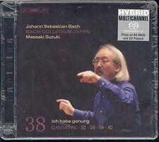 Johann BACH Cantatas Vol 38 Collegium Japan SACD hybrid CD Masaaki Suzuki