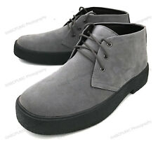 Mens Chukka Boots Casual Wallace Lace-up Desert Leather Lined Suede Ankle Shoes