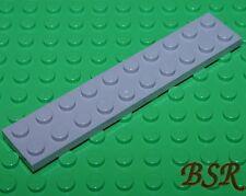 SK141) 6 Stück hell graue 1/3 Steine 2x10 Platten in MdStone 3832 unbespielt !