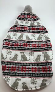 Telluride Clothing Co. Pet Dog Winter Sweater Gray Lined Sz M NWOT
