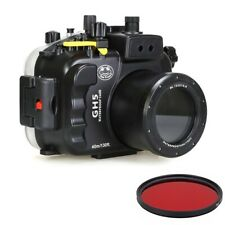 Seafrogs 40m/130ft Underwater Camera Housing for Panasonic Lumix GH5 & GH5 S