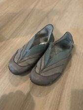 El Naturalista Frog Shock Leather Multicolor  Slip On Shoes Women's 38 7.5 Brown