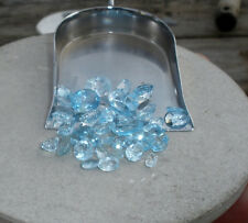 Sky Blue Topaz Natural Gem Loose Faceted Mix over 25 carats