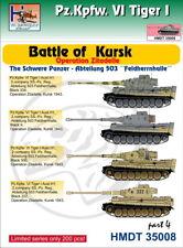 H-Model Decals 1/35 Pz.Kpfw.VI Tiger I Battle of Kursk (Schwere Pz.-Abt.503), Pa