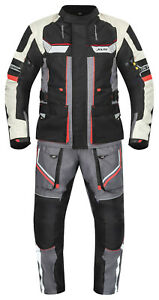 Motorradkombi Textilkombi für Motorrad Biker Textil wasserdicht atmungsaktiv