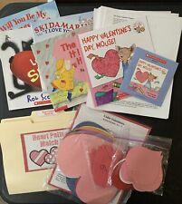 Valentine Theme - Preschool Teaching Supplies Lessons PreK Education Materials