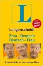 Langenscheidt Frau-Deutsch/Deutsch-Frau von Mario Barth (2004, Gebundene...