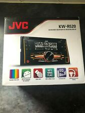JVC KW-R520 2-DIN Car Stereo CD Receiver - NEW| SEALED |QUIKSHIP|UK SELLR|SALE!!
