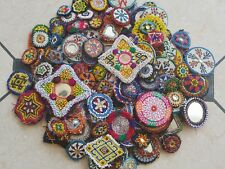 Kuchi Afghan Tribal Gypsy Banjara Beaded Dress Medallion 50 Wholesale Medals