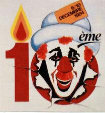 MONACO  FEUILLET PHILATÉLIQUE CEF 231 S FESTIVAL DU CIRQUE  1984